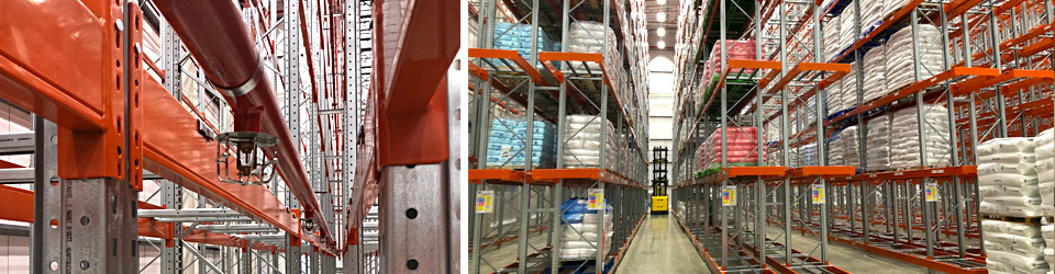 Pallet Racking Sprinklers