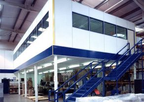 Mezzanine Floor Partitioning