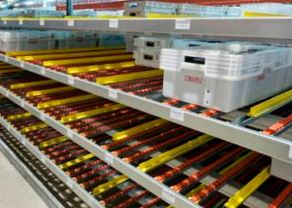 Carton Flow Shelving Systems