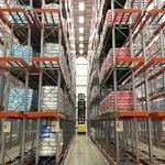 Warehouse VNA (Very Narrow Aisle) Pallet Racking Expansion Complete