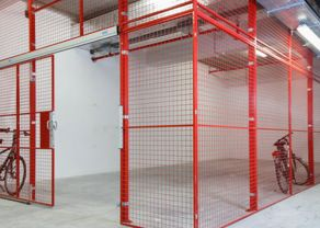 Security Cage Partitioning