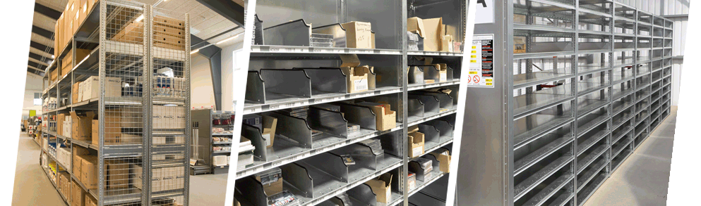 Hi280 Industrial Steel Shelving