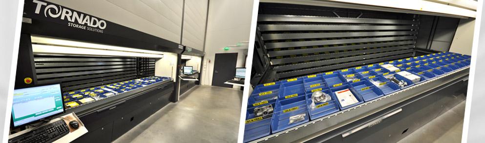 Tornado Vertical Lift Storage System